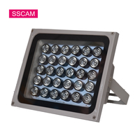 AC 220V CCTV Fill IR Leds 30Pieces Array Infrared Led Light Illuminator Lamp Waterproof Lights for CCTV Camera at Night Time