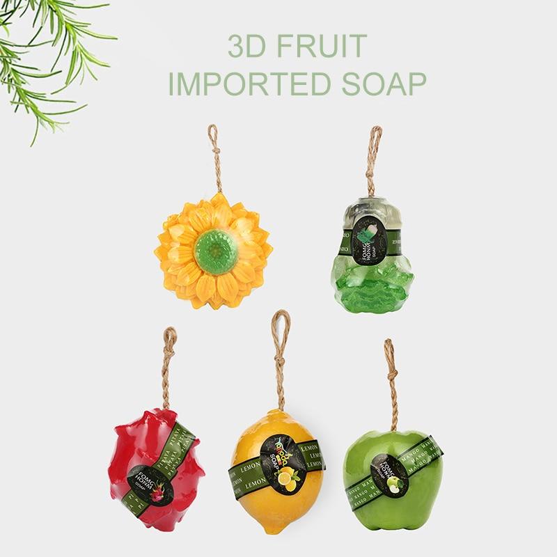 Honey Thailand Fruit Soap Mask Natural Handmade Whitening Soap Fruits Extract Whitening Reduce Dark Spot White Skin Fast Bright Tslm1 Refreshment Beauty & Health Bath & Shower