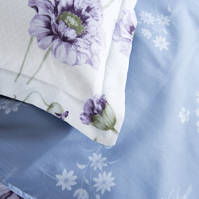 Floral comforters and quilts girls bed sheets white bed linen purple floral comforters and quilts girls bed sheets white bed linen purple flowers comforter sets luxury parure de lit bedding in bedding sets from home garden mightylinksfo