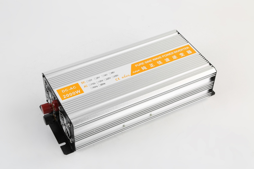 все цены на dual digital display Pure Sine Wave Power Inverter 2000W DC48V to AC220V 50HZ Off Grid