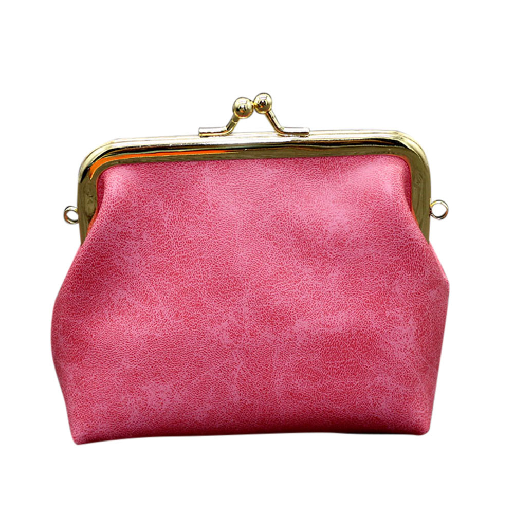 2018 Mini Purse Girls Wallet Coin Pouch Solid Leather Women Girls Fashion Snacks Coin Purse Wallet Bag Change Pouch Key Holder