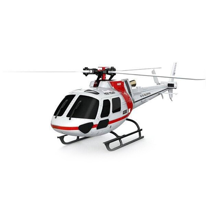Original RC XK K123 2.4GHz 6CH Brushless 3-Blade RC Helicopter RTF Version with 3D and 6G System Helicopter original xk k124 bnf without tranmitter ec145 6ch brushless motor 3d 6g system rc helicopter compatible with futaba s fhss