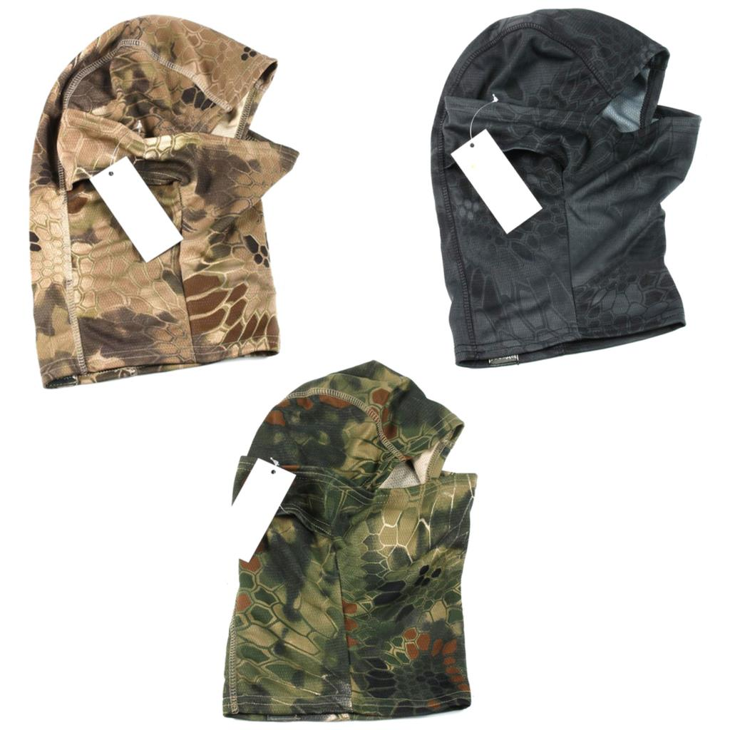 Военно-Тактические Охота Камуфляж маска Airsoft пейнтбола Шестерни Велоспорт Лыжная Защитите полный маска для лица