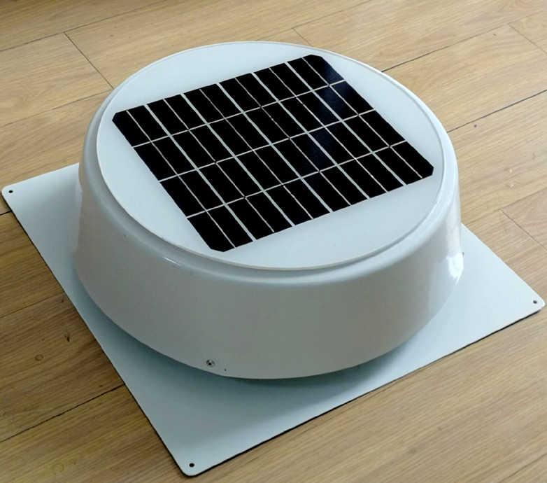 10w solar attic fan vent roof mounted