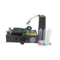 1 قطعة FT 982 شبه التلقائي آلة موزع موزع الغراء الغراء موزع اللحيم لصق الغراء السائل تحكم 220 فولت-في أداوت صهر اللحام من أدوات على