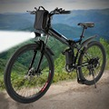 Новый горный велосипед 26 дюймов 36 В складной электрический Мощность горный велосипед с литий-ионный Батарея ebike ЕС Plug электрический велосип...