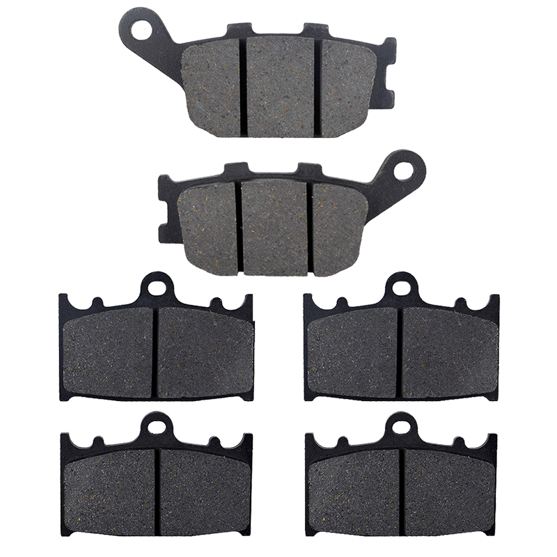 AHL Motorcycle Front & Rear Brake Pads Disks For Suzuki GSF 650 1250 Bandit 2007 2008 2009 2010 2011 2012 2013 SV 1000 motorcycle brake pads front rear for polaris atv 700 ranger crew efi 4x4 2009