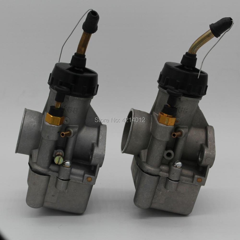 Pièces de moteur une paire de carbus K68Y et K68Y0-1 pour carburateur URAL/DNEPR 650CC
