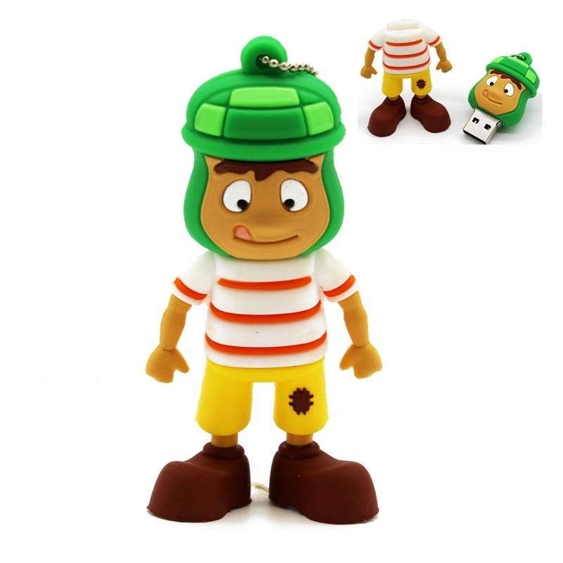 TEXT ME Cartoon  64GB  Cute Toy Story  USB Flash Drive 4GB 8GB 16GB 32GB Pendrive USB 2.0 Usb Stick