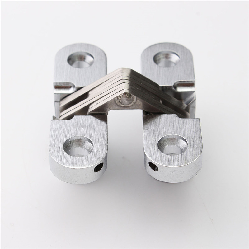 MTGATHER 304 Stainless Steel Hidden Hinges Invisible