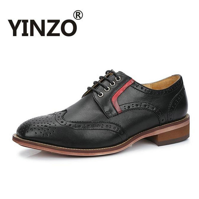 Greatest YINZO Brand 2018 Italy Bullock carved design Oxford shoes for  TT27