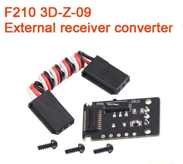 Walkera F210 3D Edition Racing Drone Spare Part F210 3D-Z-09 External Receiver Converter For RC Multicopter F18864