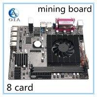 Рабочего Материнская плата добыча материнской WK 65 плата DDR3 памяти 8 карт USB3.0 расширения адаптер