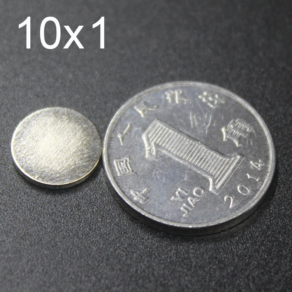 30/60/100/150 шт 10x1 неодимовый магнит 10 мм х 1 мм N35 NdFeB круглый супер мощный сильное постоянное магнитное imanes диск 10x1|Магнитные материалы|   | АлиЭкспресс