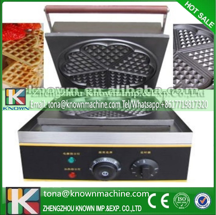 Export EU industrial heart waffle maker for sale export eu hong kong waffle maker commercial for sale