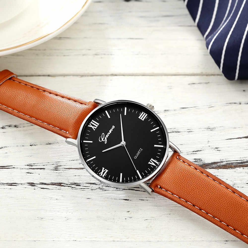ז 'נבה מותג יוקרה Mens שעונים נירוסטה אנלוגי קוורץ גבירותיי שמלת שעוני יד שעון נשים של שעון montre homme