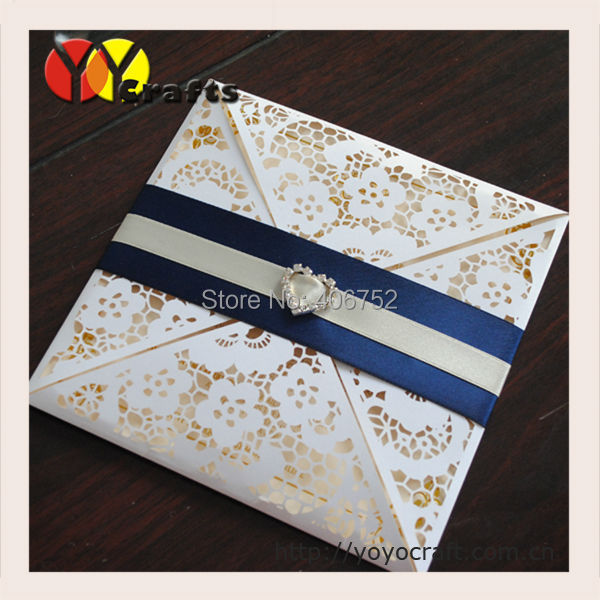 Elegant Top Grade Lace Wedding Invitations Alibaba Wholesale Unique