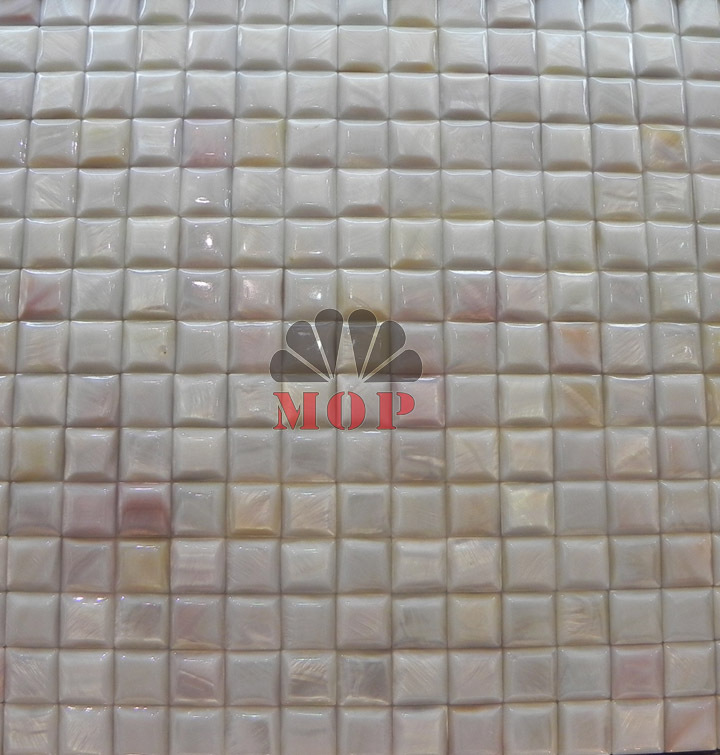 ФОТО factory direct sale fashion style freshwater shell mosaic  tile white color mesh-joint seamless mosaics tiles  free shipping