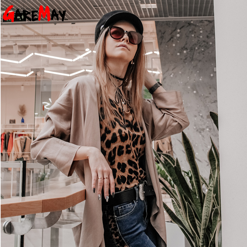 Leopard Print Cami Top Women Camisole Casual Summer Streetwear Strap Silk Camisoles For Women Deep V