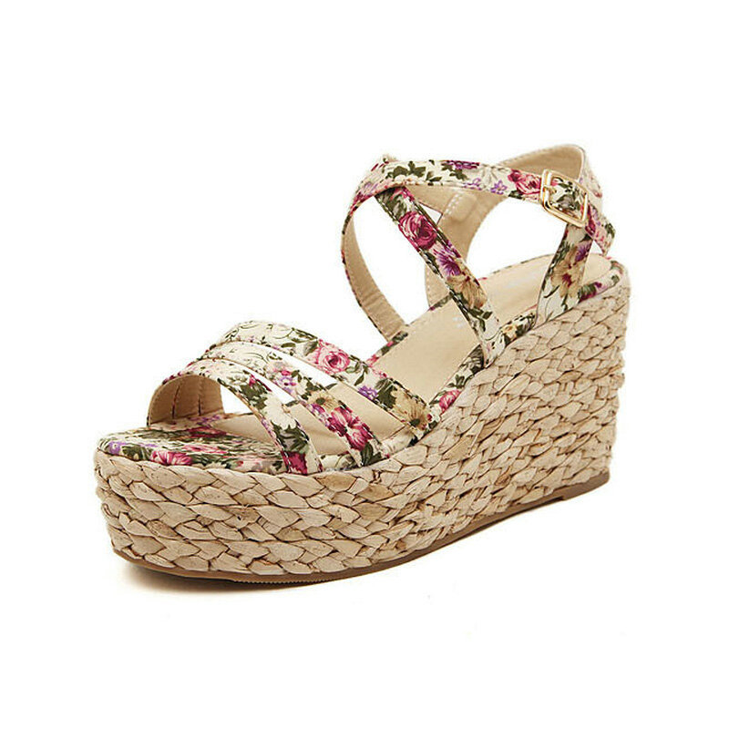 Aliexpress.com : Buy New Fashion Hot sale Summer Wedges Sandals ...