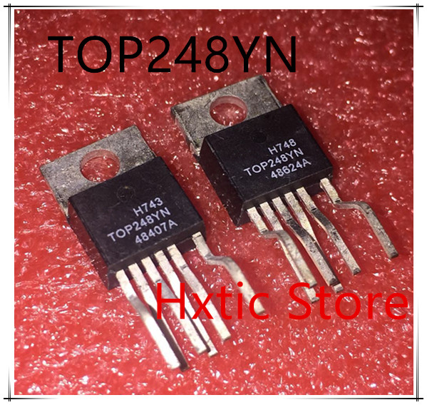 10PCS/LOT TOP248YN TOP248Y TOP248 TO-220 POWER MANAGEMENT CHIP IC