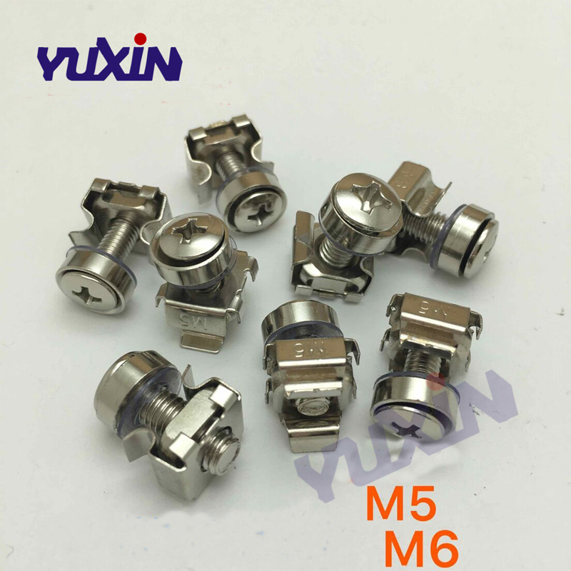 10-24 cage nuts clip in caged nuts 10 pcs