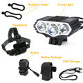 Bicycle Light Bike Flashlight Front light Leds USB Recharge 960 Lumens Bicycle Accessories