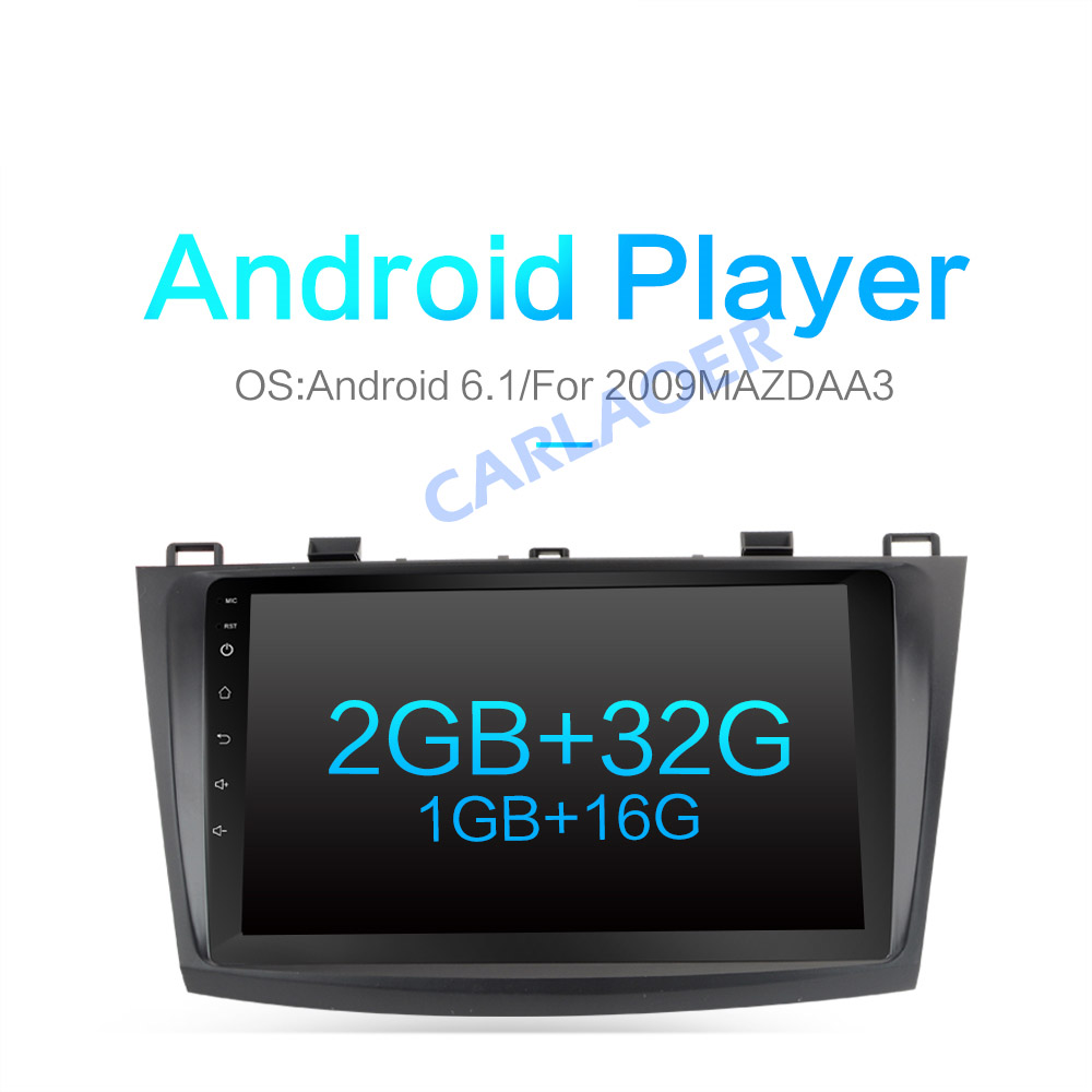 US $166 6 30% OFF|For Mazda 3 2010 2013 maxx axela android Car DVD GPS  Radio RDS Stereo 2G 32G WIFI Free MAP Quad Core 2 din Car Multimedia  Player-in