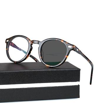 1a62a8f722 Sol lectores Bifocal + Gafas De Lectura fotocrómicas Gafas De sol hombres  mujeres Diopter Lectura vidrio