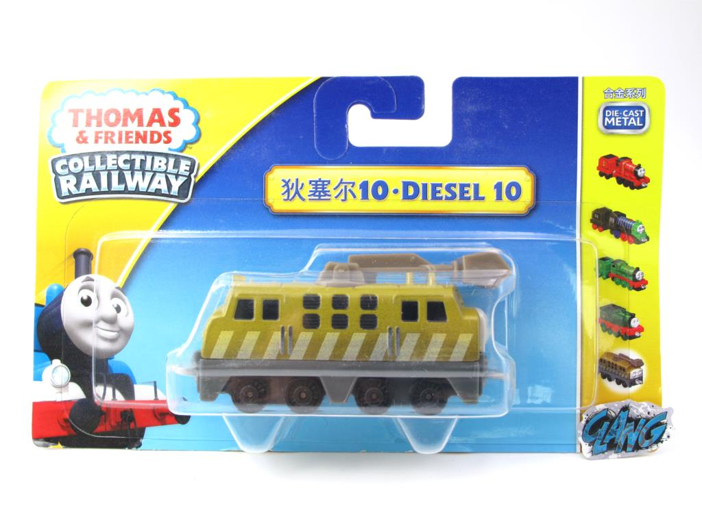 1:64 Diecasts Vehicles Thomas T040N DIESEL 10 Thomas And Friends Magnetic Tomas Truck Engine Railway Train Toys for Boys NIB