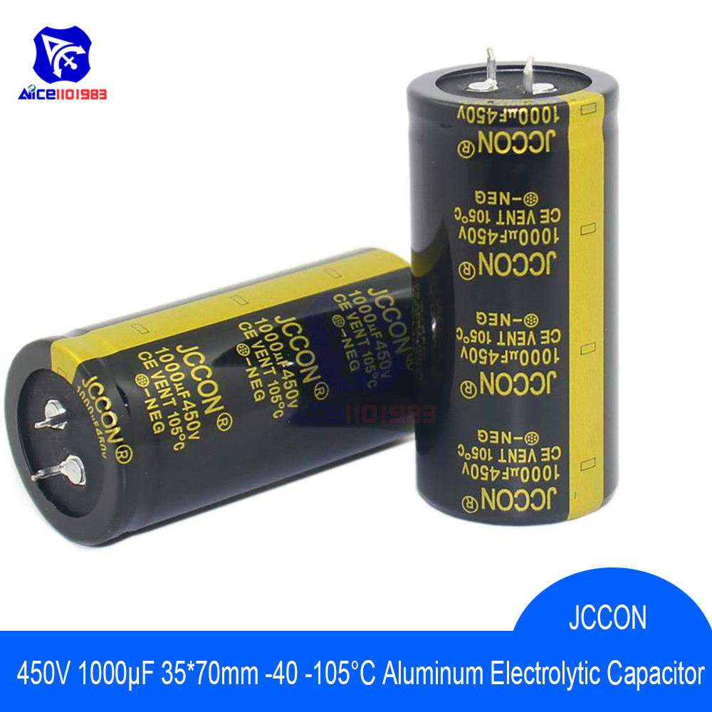 Aluminum Electrolytic Capacitor 450V 1000uF 35x70mm High Frequency Low ESR 450V1000μF 35*70mm Capacitor