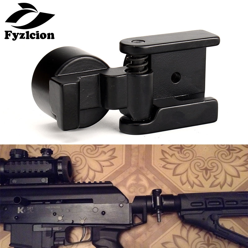 Hunting Accessories Tactical AK Side Folding Butt Stock Adaptor Mount Fit For AR15 AKs M4 A2