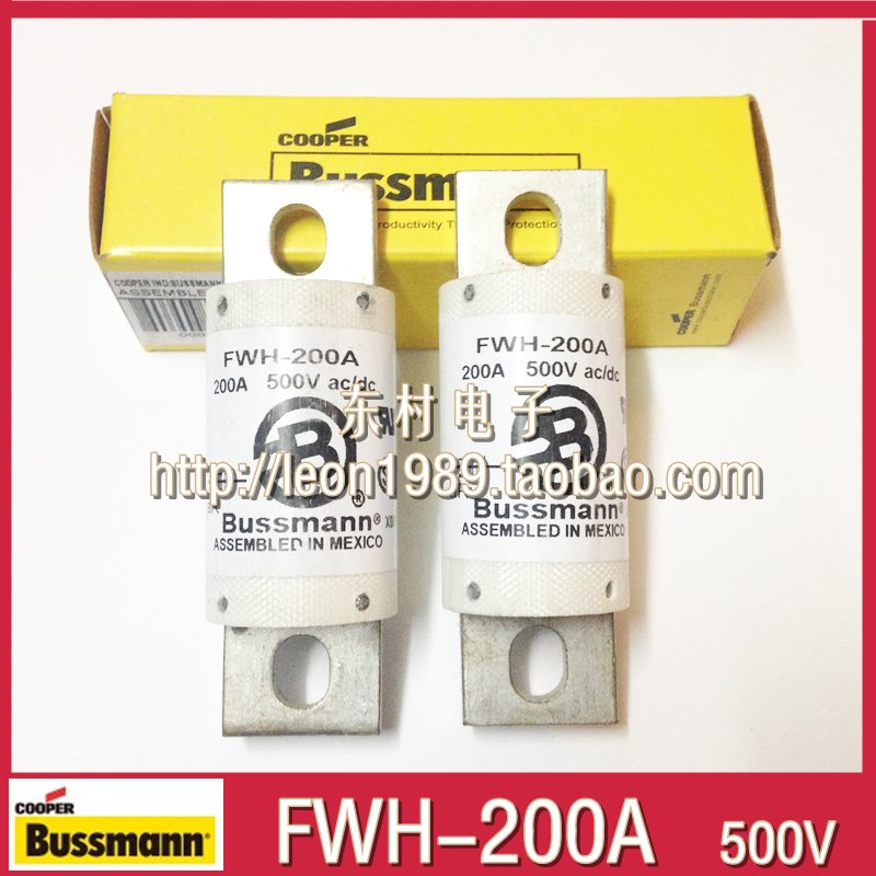 US Bussmann fuse FWH-200A FWH-200B 500V BS88: 4 Fuse direct selling rw7 10 200a outdoor high voltage 10kv drop type fuse