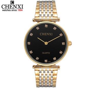 286956a80aed Ultrafino relojes amantes reloj del rhinestone para las mujeres de los  hombres de acero inoxidable de los hombres reloj de cuarzo forma femenina  masculina