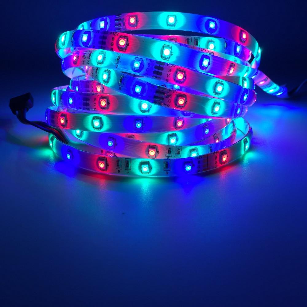 5M / Roll RGB LED Жарық диодтары 3528 SMD 300LEDs 60LEDs - LED Жарықтандыру - фото 5