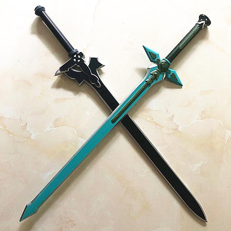 1:1 Sword Art Online Dark Repulser Kirito Kirigaya Sword Kirigaya Kazuto cosplay prop Yuuki Asuna black sword Christmas present