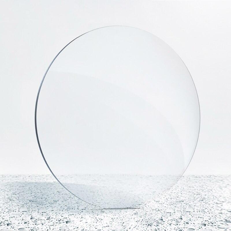 2 pièces lentilles de Prescription Anti-rayons bleus personnalisées myopie dioptries lentille 1.61 indice optique lentille de lunettes MR8 Anti UV U954