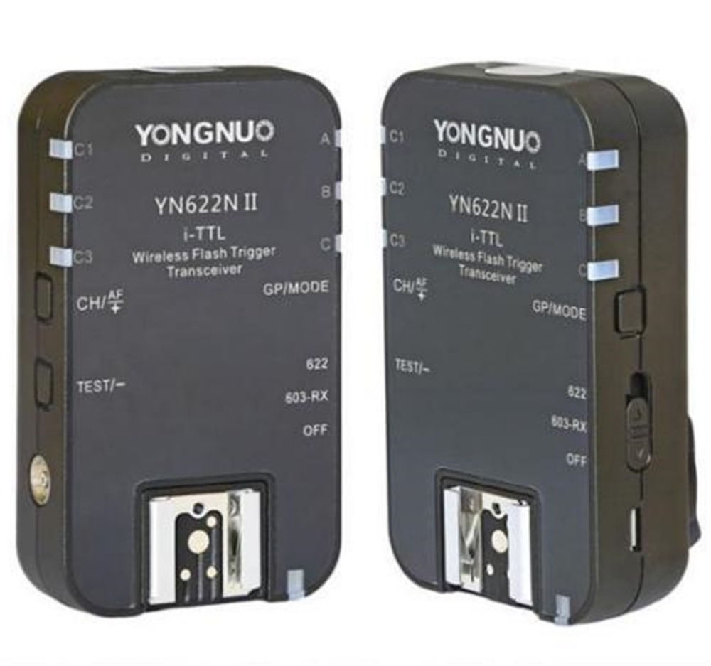 YN-622N Wireless i-TTL Flash Trigger 1/8000s for Nikon D90 D800 D700 D600 D610 D7500 D7200 D7100 D750 D810 D5600 D5300 D3400