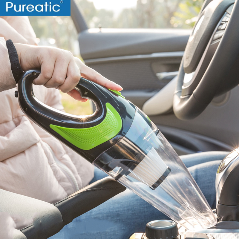 2019 Newest Car Home Use Vacuum Cleaner Dust Catcher For Dry Wet Dust Dirt 4000PA Cordless Rechargeable Portable Vacuum Sweeper