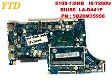 Оригинальная материнская плата для ноутбука lenovo 510S-13IKB 510S-13IKB I5-7200U BIUS0 LA-D441P PN; 5B20M35998 протестирована хорошая бесплатная доставка
