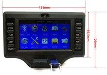 Сабвуфер усилительная плата Bluetooth 50 Вт * 2 + 100 Вт 4,3 дюймов ЖК-дисплей аудио Bluetooth ресивер декодер MP4/MP5 декодирования видео DC12V