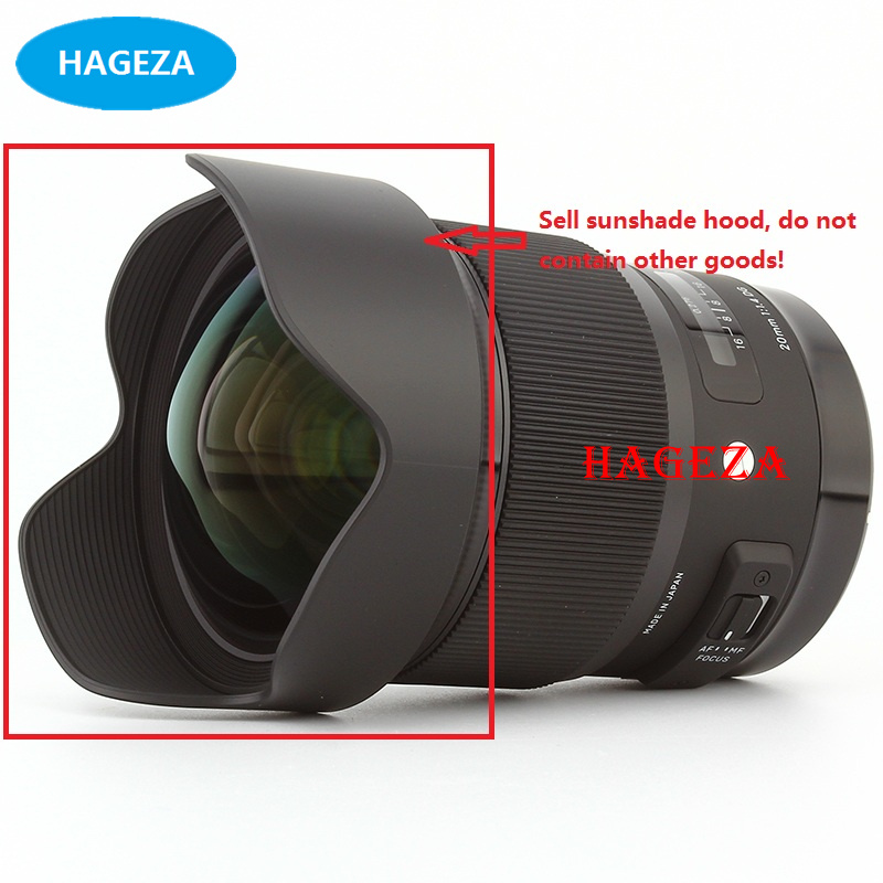 цена 100% NEW and Original 20mm 1.4 Lens Front Hood For Sigma 20mm f/1.4 DG HSM Art Repair Parts
