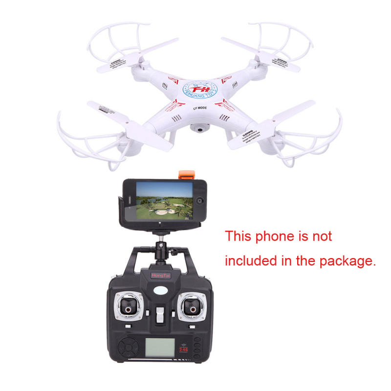 RC Drone F805C 4CH 2.4G With 0.3MP Camera wifi FPV rc drone LED Light Headless Mode Remote control toys for child best gifts все цены