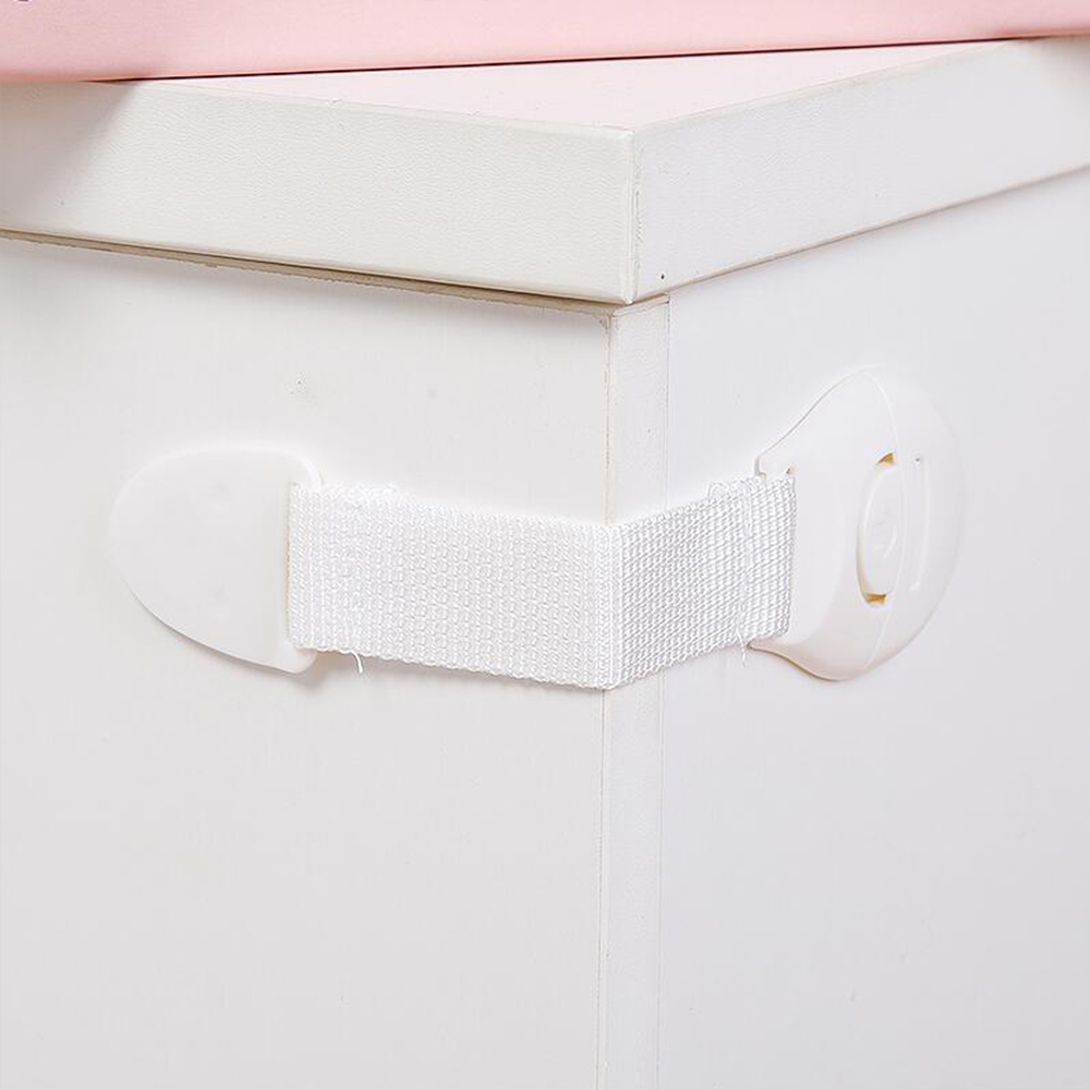 10 Pcs/Lot Plastic Child Lock Drawer Door Cabinet Cupboard Toilet Safety Locks Kids Safety Plastic Locks For Children Protection