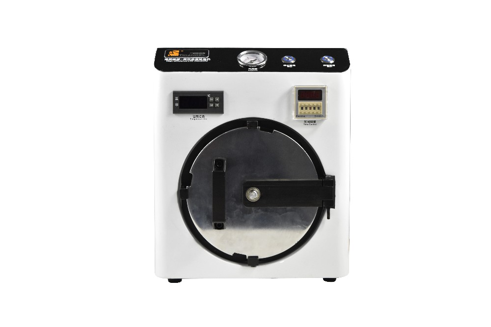 Mini Haute Pression OCA Autocollant Adhésif LCD Bubble Supprimer Machine pour Écran Tactile Fix Verre Réparation nécessité Air Compresseur