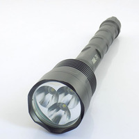 2016 New 3 CREE T6 LED Tactical Flashlight Powerful 6000 Lumens Linterna 18650 Lanterna Self Defense