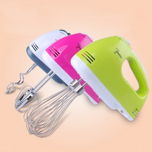 7 Speed Hand Mixer Home Kitchen Electric Cream Blender Baking Cake Biscuit For House Home Kitchen