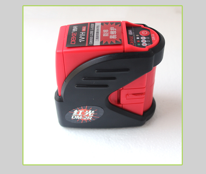 XEAST Mini 2 lines laser level self- leveling Cross Laser Level 1V1H Red 2 line 1 point high quality southern laser cast line instrument marking device 4lines ml313 the laser level