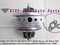 Free Ship TURBO Cartridge CHRA GT1752S 701196-0001 701196-5007S 701196 479054 14411VB300 For NISSAN Y61 Patrol RD28T RD28TI 2.8L