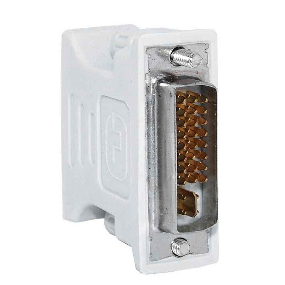 L-Bentuk DVI-I untuk Adaptor VGA, 90 Derajat DVI 24 + 5 29Pin Male Ke VGA 15 Pin Female Converter Connecter Adaptor untuk Laptop